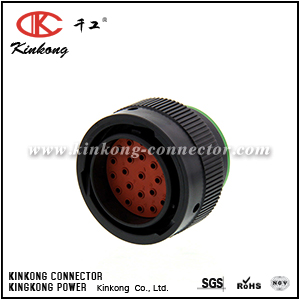 HDP26-24-23PN 23 pin male crimp connector