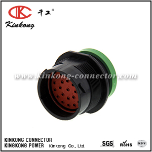 HDP24-24-23PN-L017 23 pin male automotive connector
