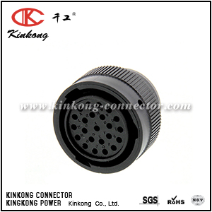 HDP26-24-23ST 23 pole female crimp connector