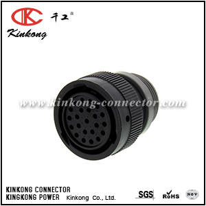 HDP26-24-23ST-L015 23 hole female cable connector