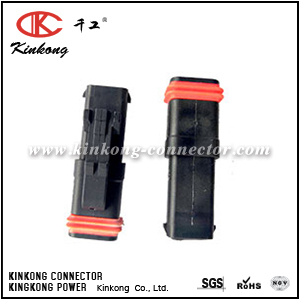 132015-0071 2 way female cable connector