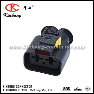 Female 2 way waterproof cable wire electrical plug CKK7025D-9.5-21