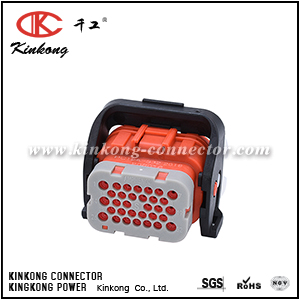 HC18A-S32 32 hole female socket housing