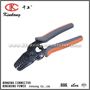 Mini Micro Open Barrel Crimping Tools Works on JAM, Molex, Tyco, JST Terminals and Connectors 0.08-0.5mm² 28-20AWG CKK-2820M