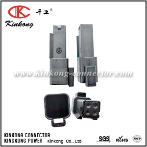 132015-0070C 4 pin male waterproof connector