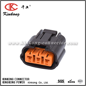 3 pole female socket housing CKK7036T-2.2-21