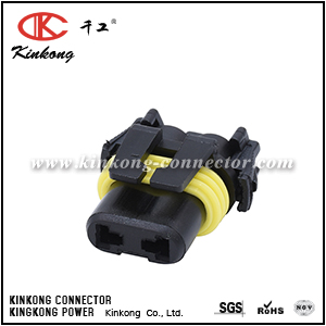 2 ways female automobile connector CKK7022E-2.8-21
