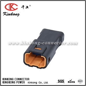 4 pins blade turn signal connector CKK7041B-0.7-11
