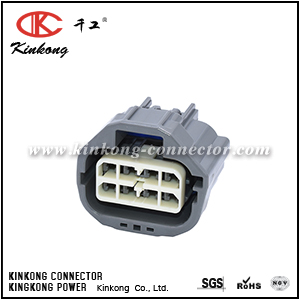 7283-6441-40 8 hole female automobile connector CKK7087A-2.8-21