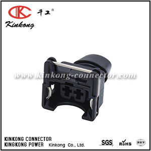 2 pole female crimp connector CKK7021T-3.5-21