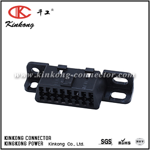 16 way female On-Board Diagnostics II connector CKK5165D-1.5-21