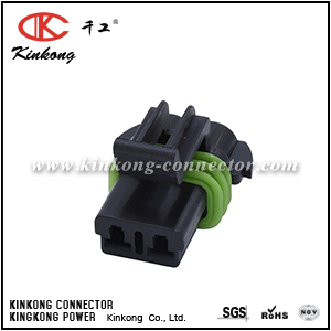 2 pole female cable connector CKK7022N-2.8-21